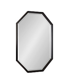 "Kate and Laurel Calter Elongated Octagon Wall Mirror - 25.5"" x 37.5"""