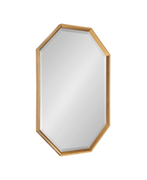 Kate and Laurel Calter Elongated Octagon Wall Mirror - 25.5