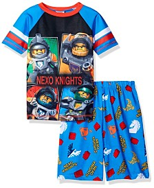 Lego Nexo Knights Little and Big Boys 2 Piece Pajama Set