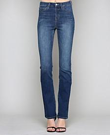 Slim Bootcut High Rise Jeans