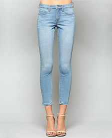 Vervet Mid Rise Super Soft Ankle Skinny Jeans