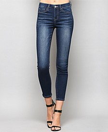 Mid Rise Super Soft Ankle Skinny Jeans