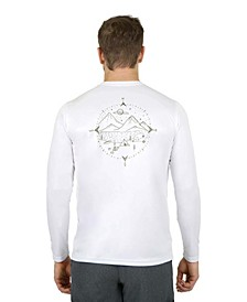 Sun Protection Long Sleeve Compass Camp T Shirt