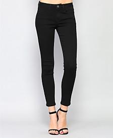 Vervet Mid Rise Super Stretch Skinny Jeans