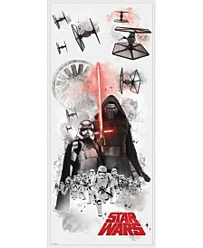 York Wallcoverings Star Wars The Force Awakens EP VII Villians Burst Pands Giant Wall Decal
