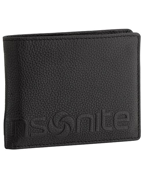 58c7f0e005 Samsonite Samsonite RFID Credit Card Billfold Wallet & Reviews - All ...
