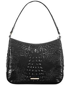 Brahmin Meg Melbourne Leather Shoulder Bag