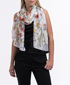 Vince Camuto Floral Oblong Scarf