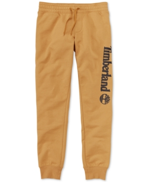 Timberland Men's Core Regular-Fit Logo-Print Sweatpants