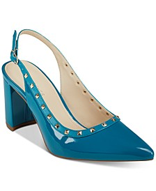 Carmon Studded Pumps