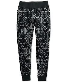 Champion Reverse Weave Logo-Print Joggers