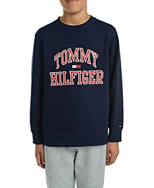 Big Boys Henry Fleece Logo Sweatshirt