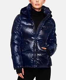 Kylie Hooded Down Puffer Coat