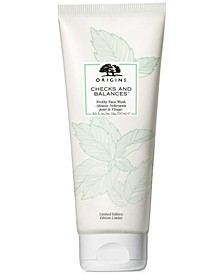 Checks and Balances Frothy Face Wash Jumbo, 8.5 oz