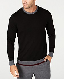 Men's Merino Wool Blend Sweater, Created for Macy's