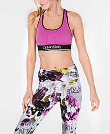 Logo Racerback Medium-Impact Sports Bra