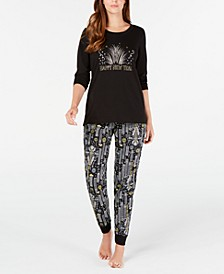 Matching Women's New Year Pajama Set, Created for Macy's