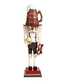17.5 Inch Hollywood™ Beer and Pretzel Nutcracker
