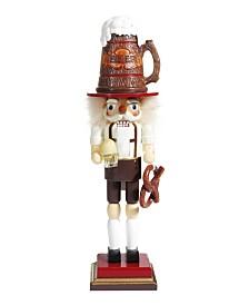 Kurt Adler 17.5 Inch Hollywood™ Beer and Pretzel Nutcracker