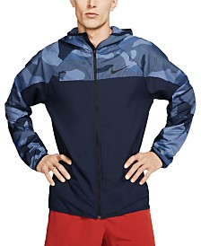 Nike Men's Flex Camo Zip Training Hoodie