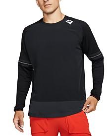 Nike Men's Sport Clash Dri-FIT Layered-Look Running Top