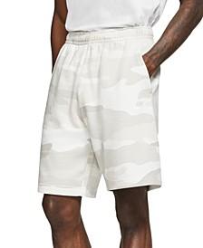 Men's Club Fleece Camo Shorts