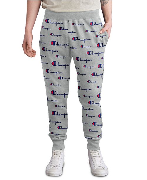 Champion Men's Logo-Print Joggers