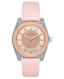 Women's Channing Pink Silicone Strap Watch 40mm