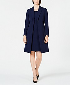 Notched-Collar Jacket & Dress Suit