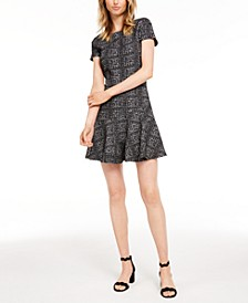 Plaid Fit & Flare Dress, Created for Macy's