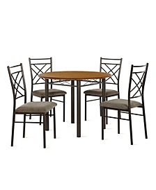 Mallory 5-Piece Dining Set
