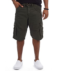 """X-Ray Men's Double Pocket 12.5"""" Cargo Shorts"""