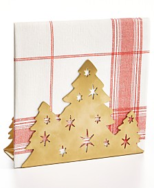 Martha Stewart Collection Holiday Tree Napkin Holder, Created For Macy's