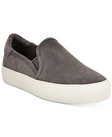 Women's Jass Suede Slip-On Sneakers