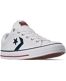 Men's Star Player Low Top Casual Sneakers from Finish Line