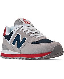 Men's 574 Americana Casual Sneakers from Finish Line