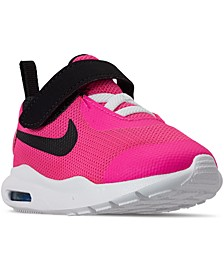 Toddler Girls Oketo Air Max Stay-Put Casual Sneakers from Finish Line