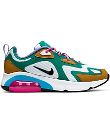 Nike Women's Air Max 200 Running Sneakers from Finish Line