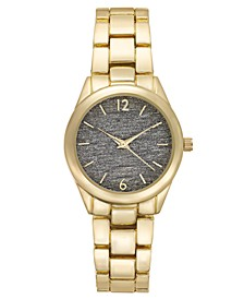 INC Gold-Tone Bracelet Watch 35mm, Created for Macy's