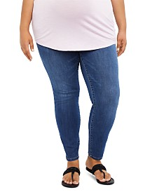 Jessica Simpson Maternity Plus Size Skinny Jeans