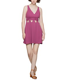 BCBGeneration Triangle-Cutout Dress