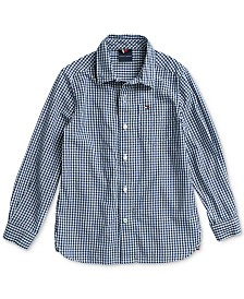 Tommy Hilfiger Adaptive Little Boys Jefferson Shirt with Magnetic Buttons