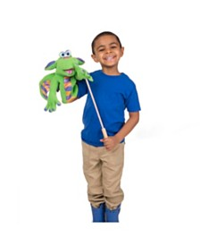 Melissa and Doug Dragon - Puppet New Packaging