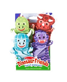 Melissa and Doug Dinosaur Friends Hand Puppets