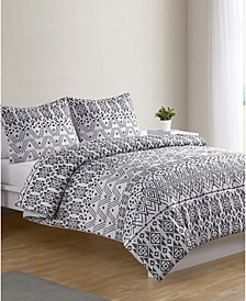 Mesa 3-Pc. Full/Queen Duvet Cover Set