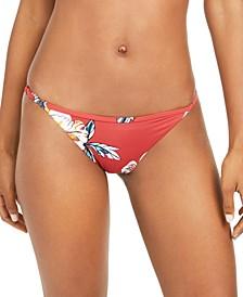 Juniors' Beach Classics Printed Bikini Bottoms