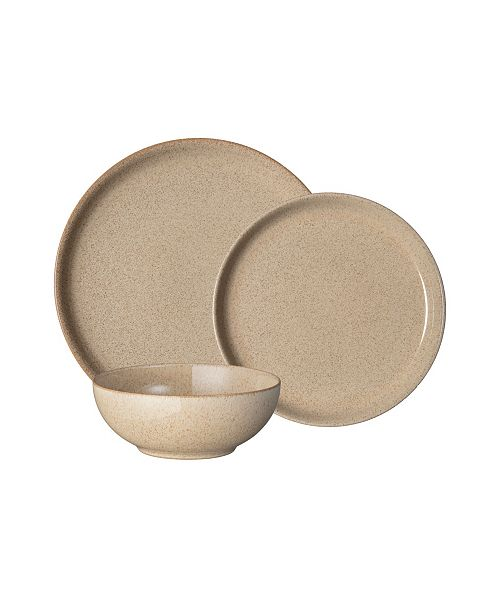 Denby Studio Craft Birch 12 Piece Dinnerware Set, Service for 4