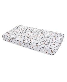 Forest Friends Cotton Muslin Crib Sheet