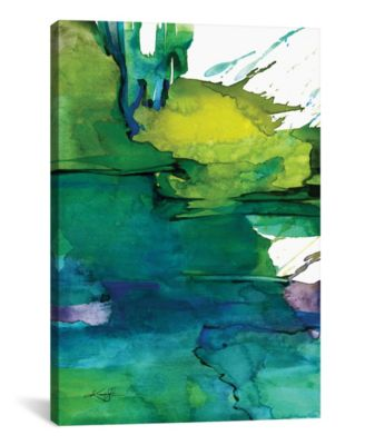 Ethereal Moments I by Kathy Morton Stanion Wrapped Canvas Print - 60