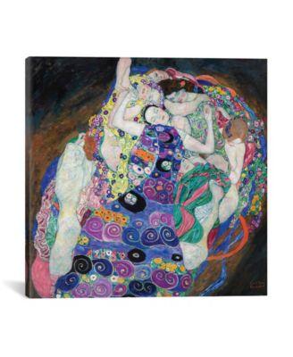 "The Virgin, 1913 by Gustav Klimt Wrapped Canvas Print - 18"" x 18"""